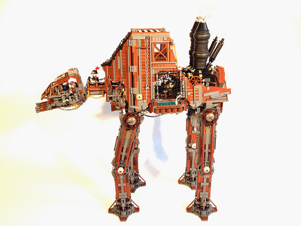 steampunk-lego-at-at