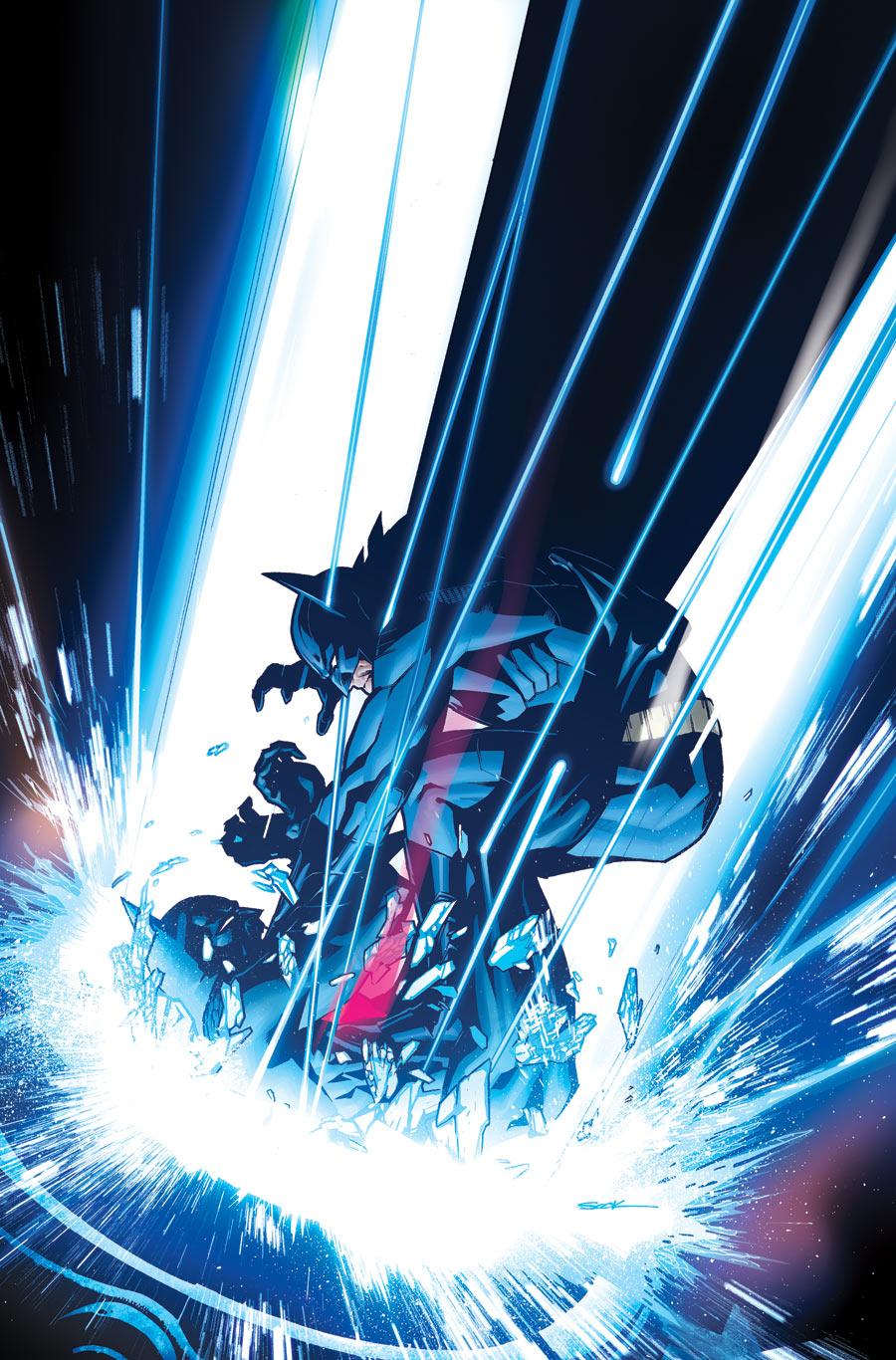 Batman Vs. Batman Beyond Comic Art by Ryan Sook — GeekTyrantNew 52 Batman Beyond