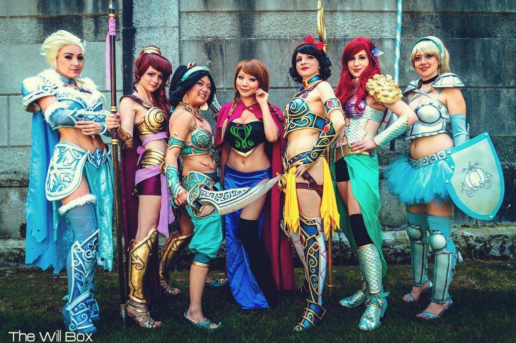 disney princess battle armor cosplay geektyrant
