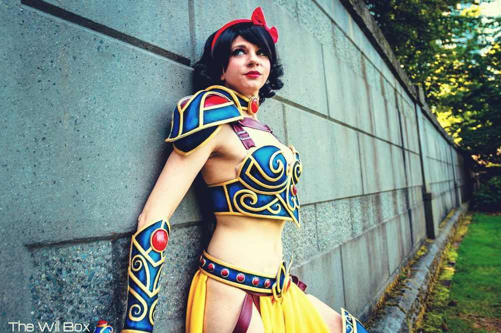 Photo of Andy Rae as Battle Armor Snow White