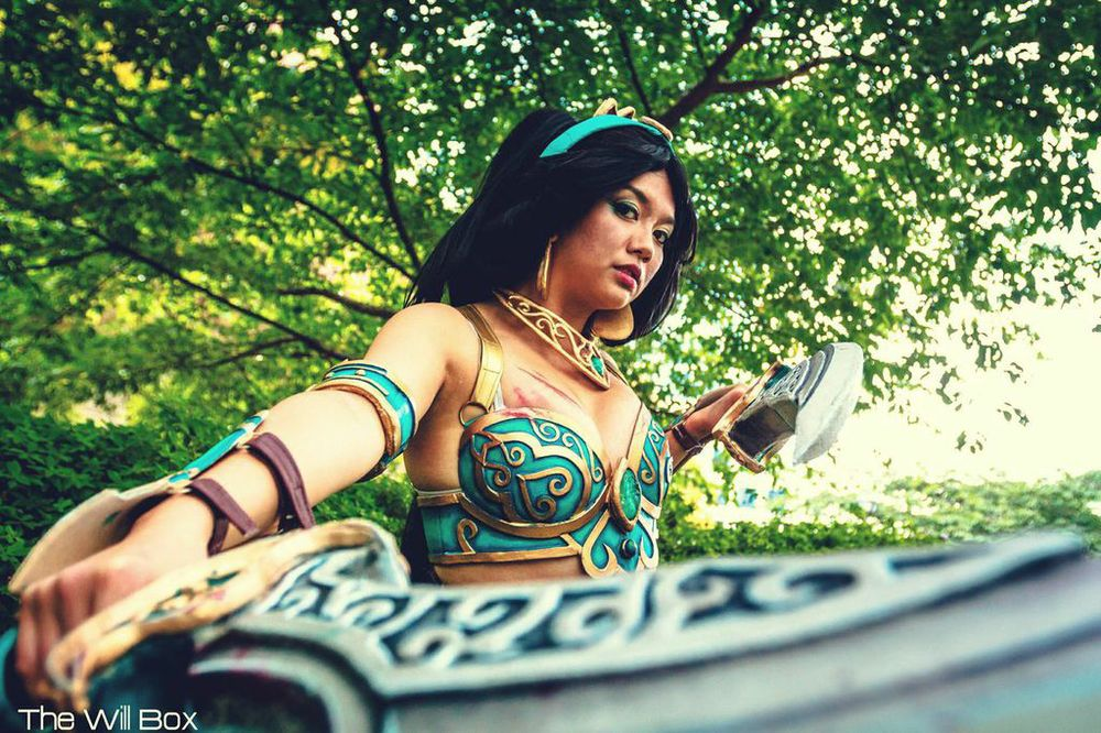 Photo of Gladzy Kei as Battle Armor Jasmine