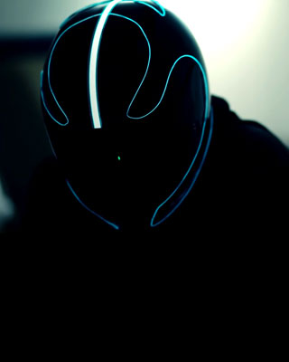 troninspired lightmode motorcycle helmets � geektyrant