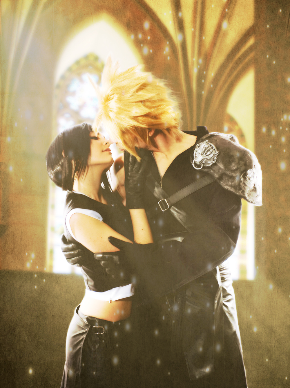 Squall is Cloud and Rinoa is Tifa | Photo by: Lars Van Drake | Editing by: ErinM31