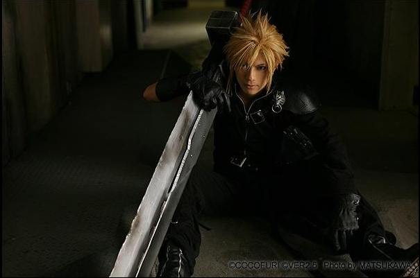 Kaname is Cloud | Photo by: Matsukawa