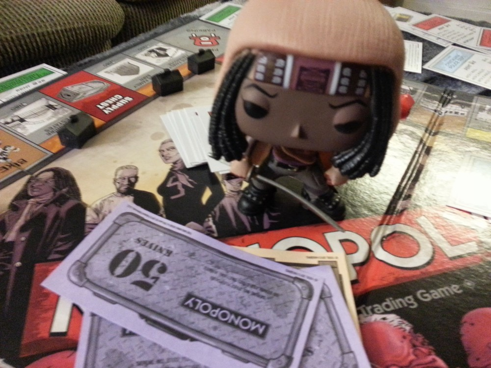 Don't Mess With Michonne, even in Monopoly