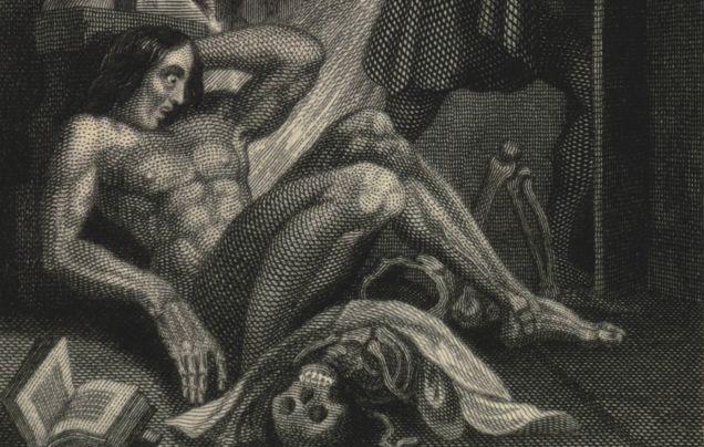 See the Original Illustration of Frankenstein's Monster ...