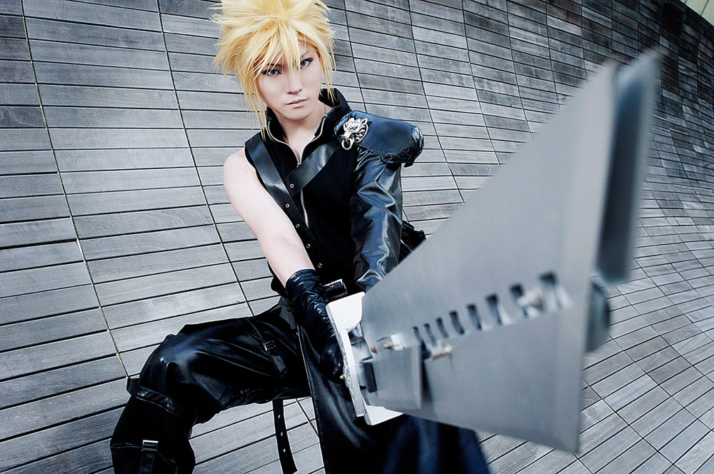 Naokunn is Cloud | Photo by: Vaxzone | Edited by: Rinabyakuran