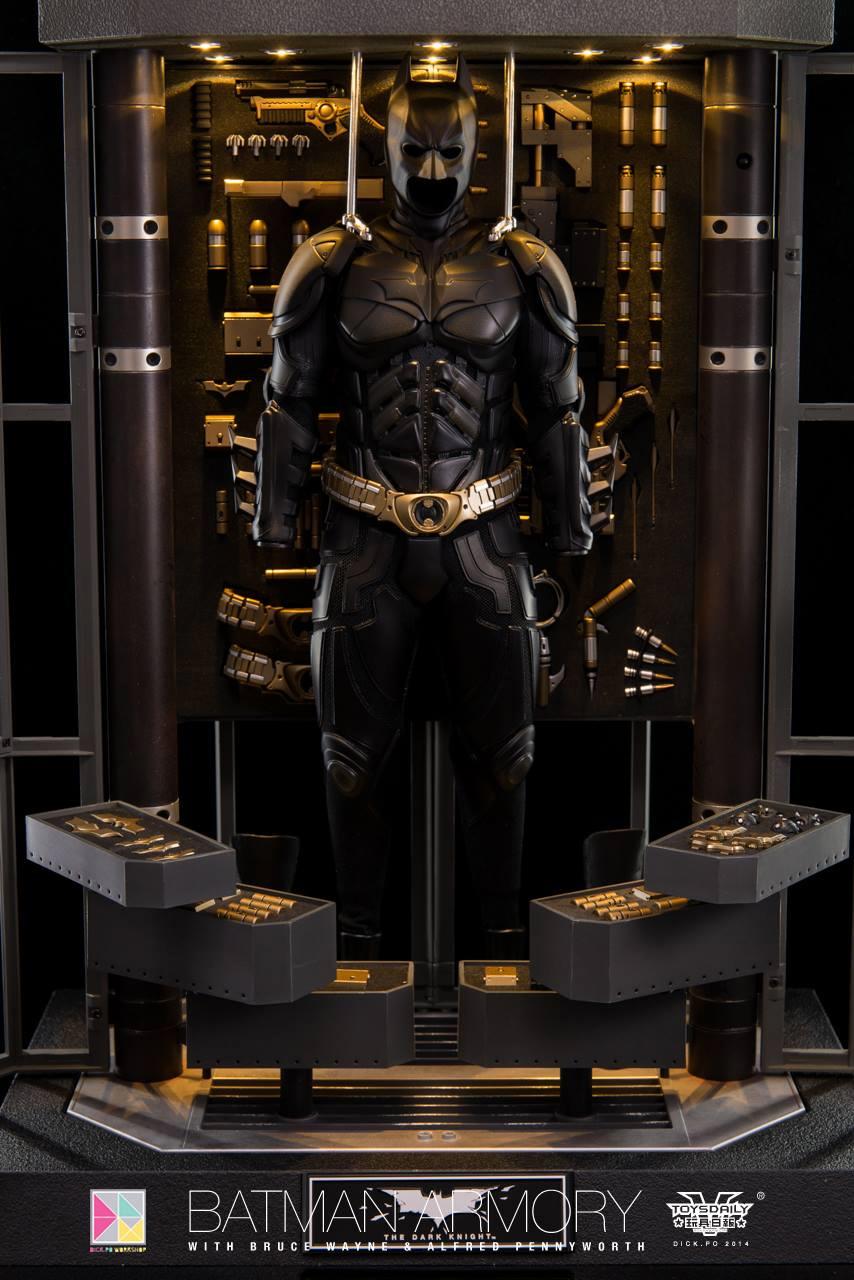 Hot Toys Batman Armory From The Dark Knight Geektyrant