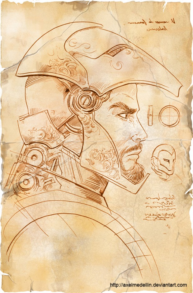 if-leonardo-da-vinci-designed-iron-mans-armor