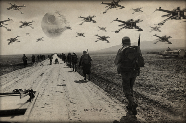 World War II Style STAR WARS Photos