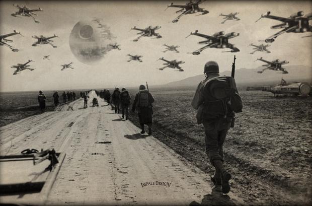 World War II Style STAR WARS Photos
