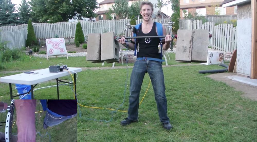 Home Built Elysium Exoskeleton that Works