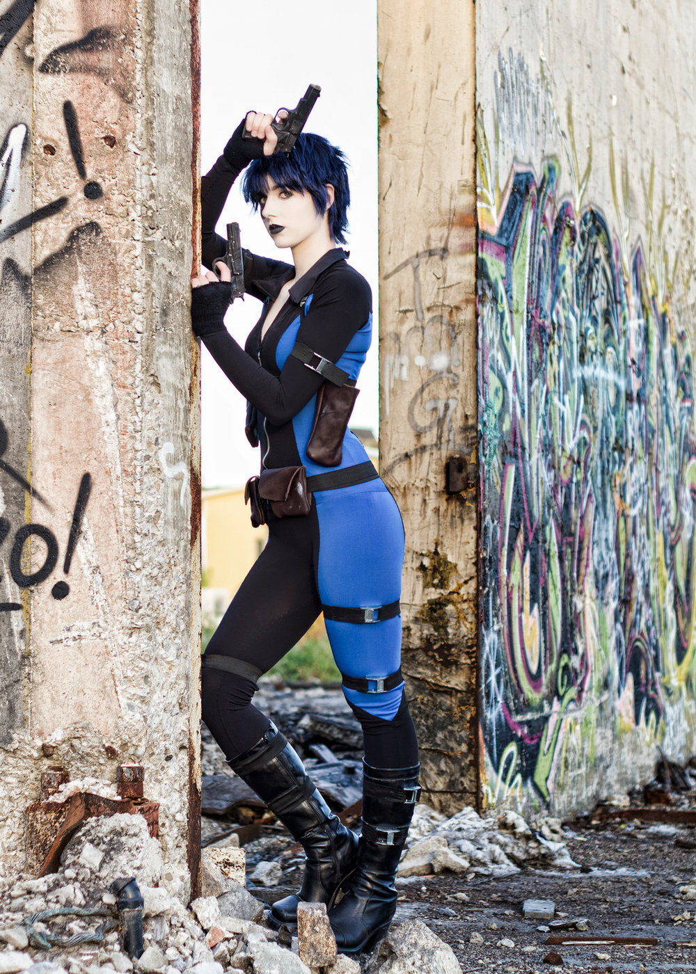 Elle Cosplay is Domino | Photo by: Eric Wheeler
