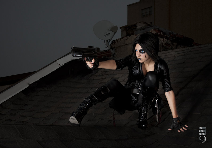 J eanne Killjoy  is Domino | Photo by: M9