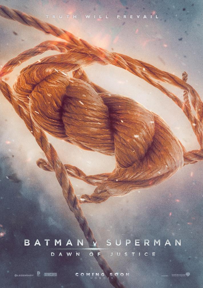 Creative Fan Made Batman V Superman Dawn Of Justice Posters