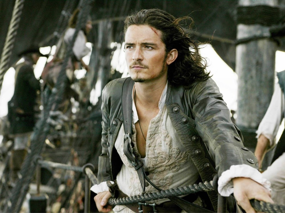 Orlando Bloom returns to the Pirates of the Caribbean 08/17/2015 2