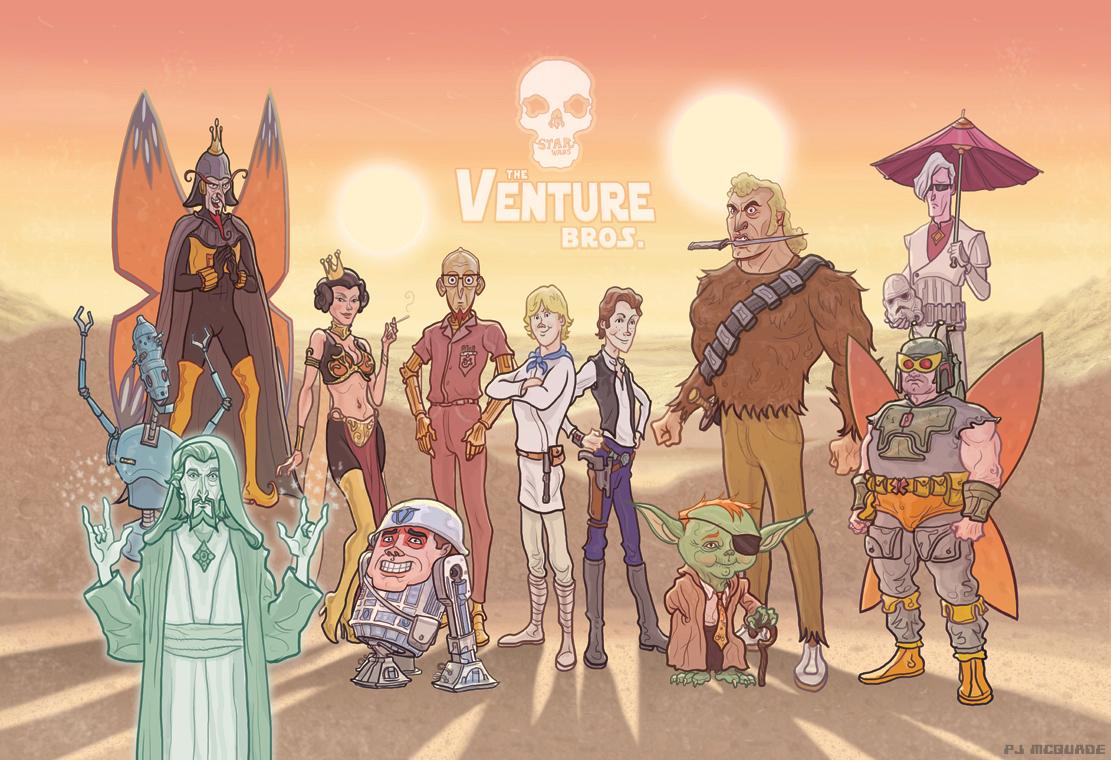 the venture bros gets a funny star wars mashup geektyrant