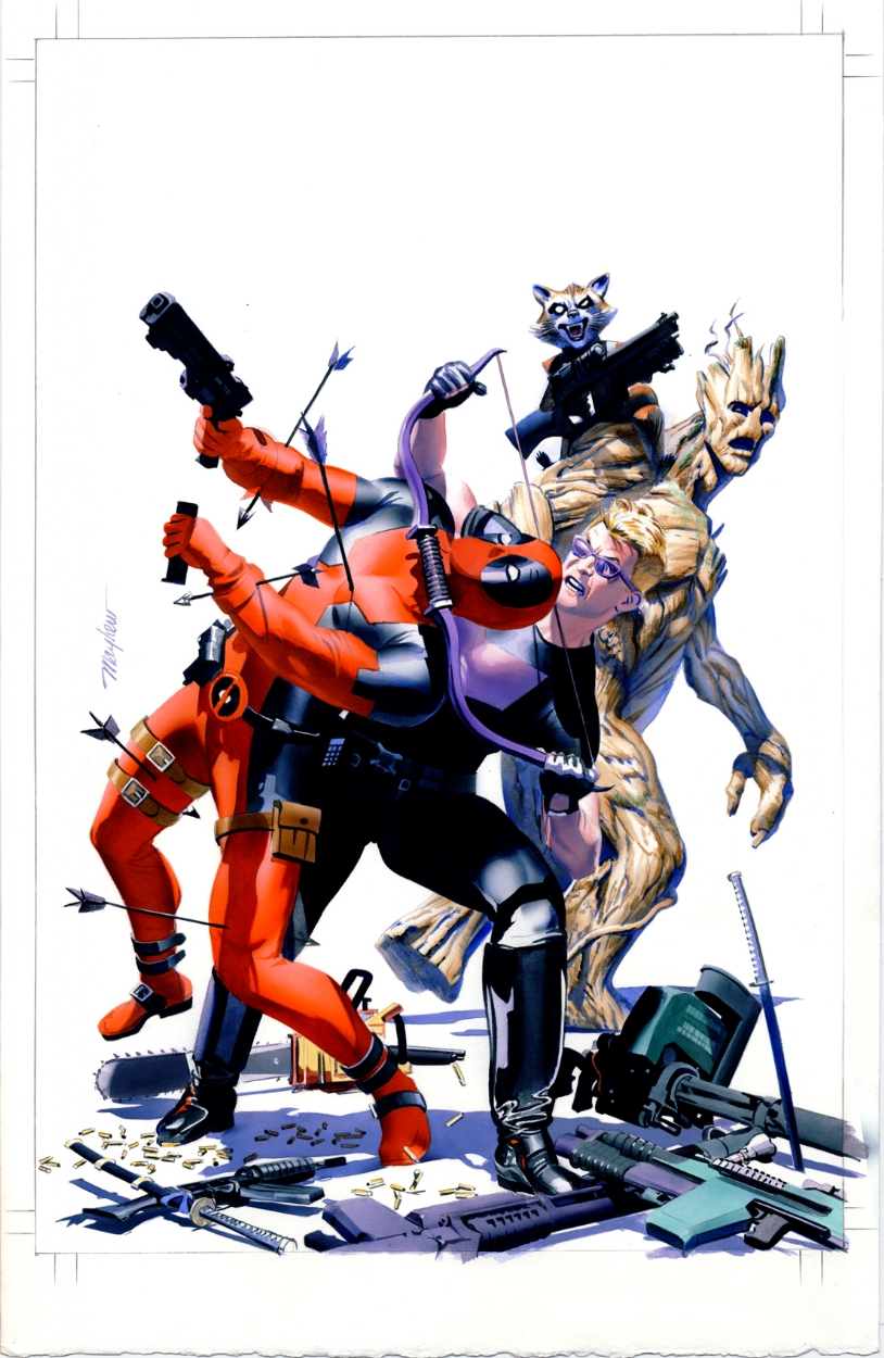 Hawkeye vs. Deadpool #0: ACCC and H&F Exclusive | Heroes & Fantasies