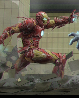 Iron Man Attacks In Fan Art Quot The Decisive Moment