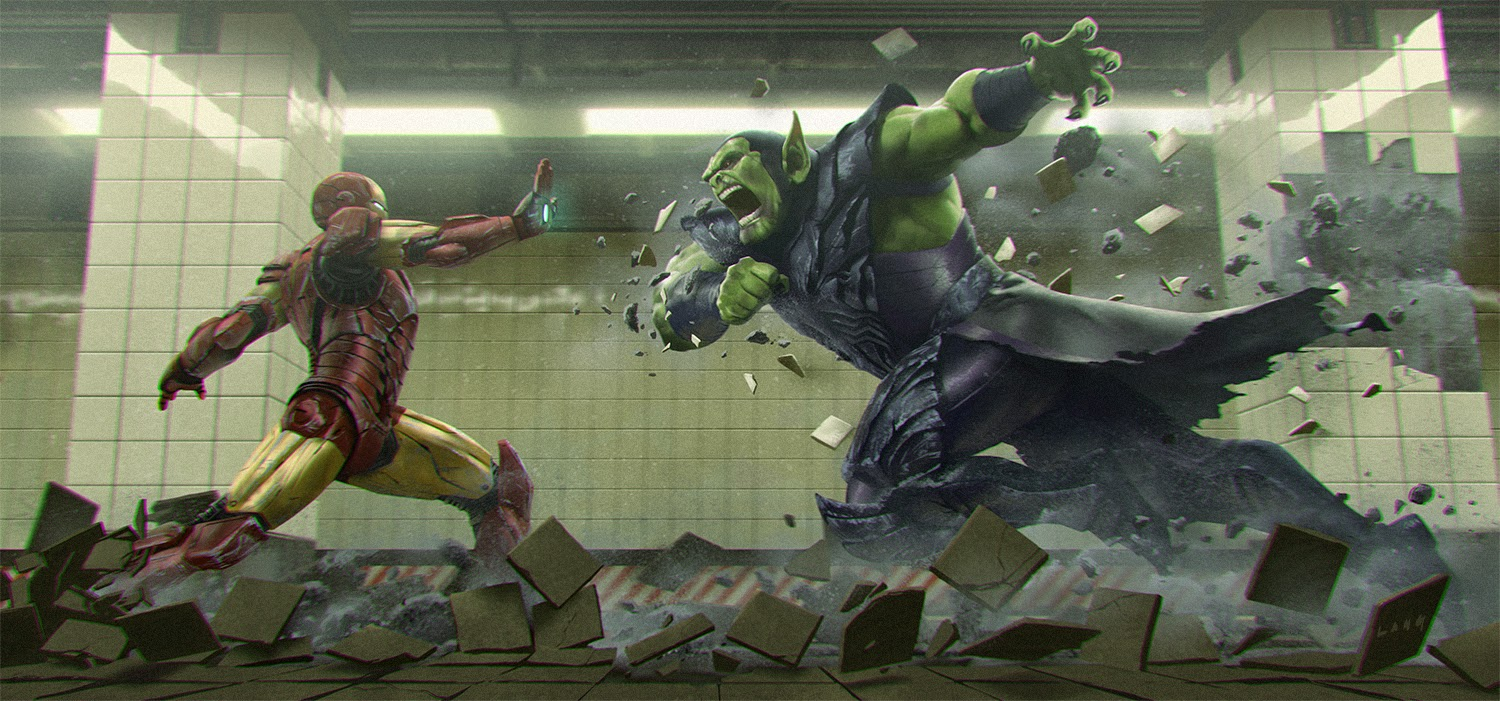 "iron man attacks in fan art - ""the decisive moment"" — geektyrant"