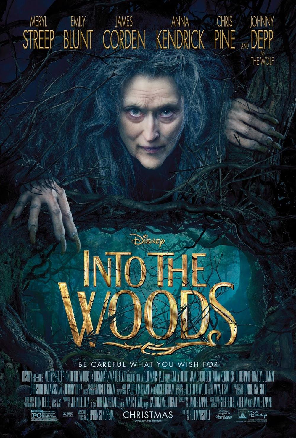 """Disney da la vuelta a los cuentos de hadas con el musical """"Into the Woods"""""""