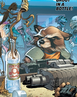 ROCKET RACCOON #3 by Skottie Young — Marvel Comics Preview