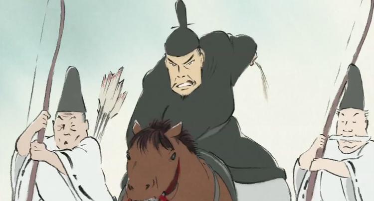 The Tale Of Princess Kaguya Studio Ghibli