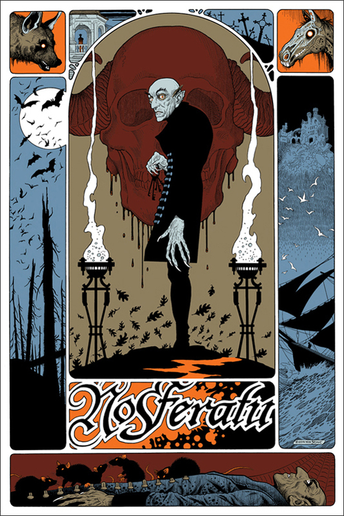 mondo poster art for nosferatu by william stout � geektyrant