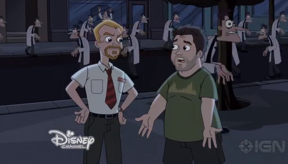 phineas-and-ferb-meets-shaun-of-the-dead-in-video-clip