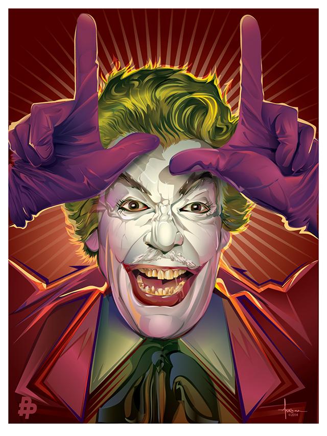 1960s Batman Series Villain Art Joker Penguin And Riddler