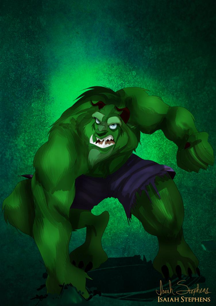 Beast as The Hulk