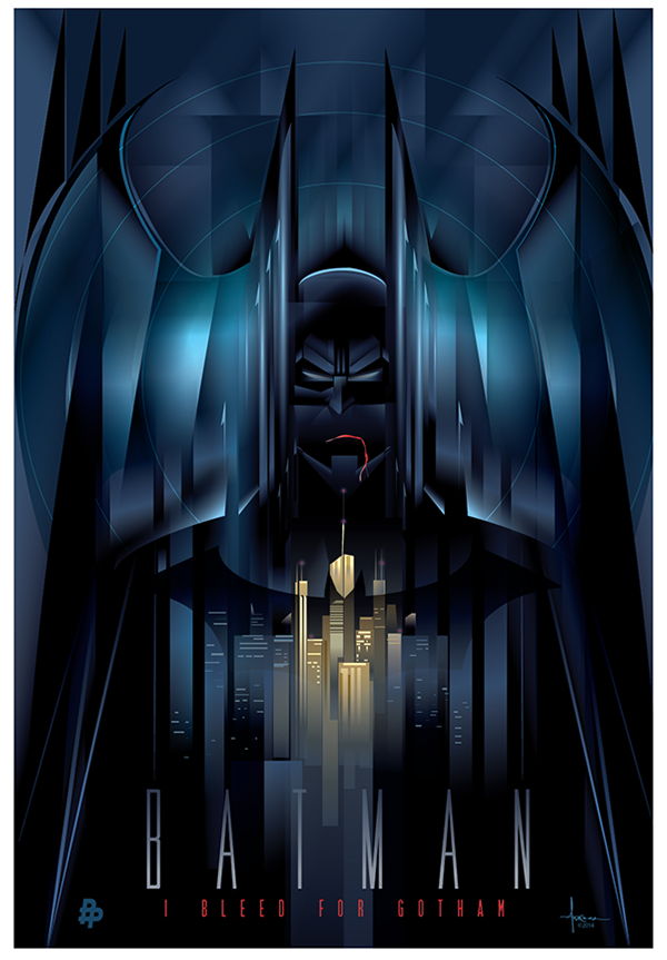 batman vector art by orlando arocena � geektyrant