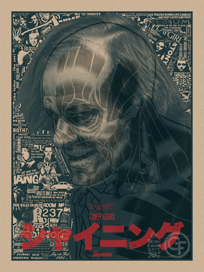 Wicked Cool Poster Art for THE SHINING and PSYCHO — GeekTyrant