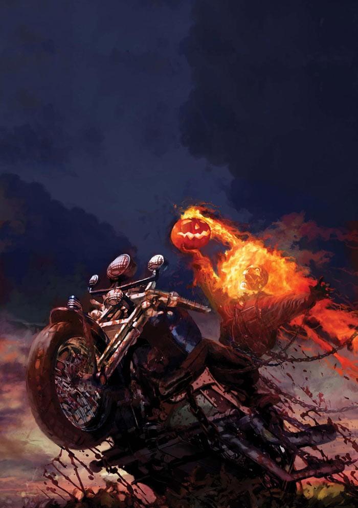 8 Ghost Rider Comic Covers Geektyrant