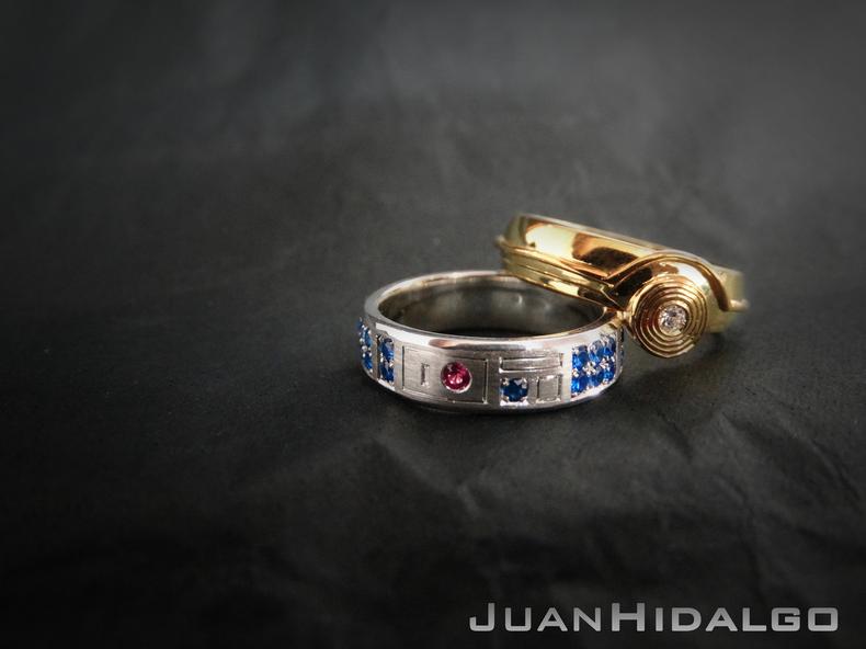 Wedding Rings Dallas 51 Marvelous star wars inspired r