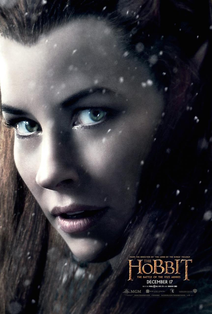 tauriel-thorin-bard-posters-for-the-hobbit-the-battle-of-the-five-armies
