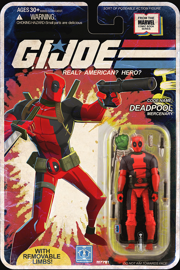Deadpool Reimagined as a G.I. Joe Action Figure � GeekTyrant