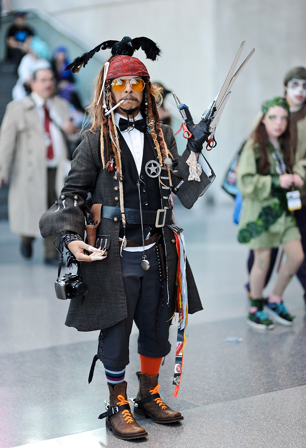 Name All of the Johnny Depp Characters in this One Cosplay ...