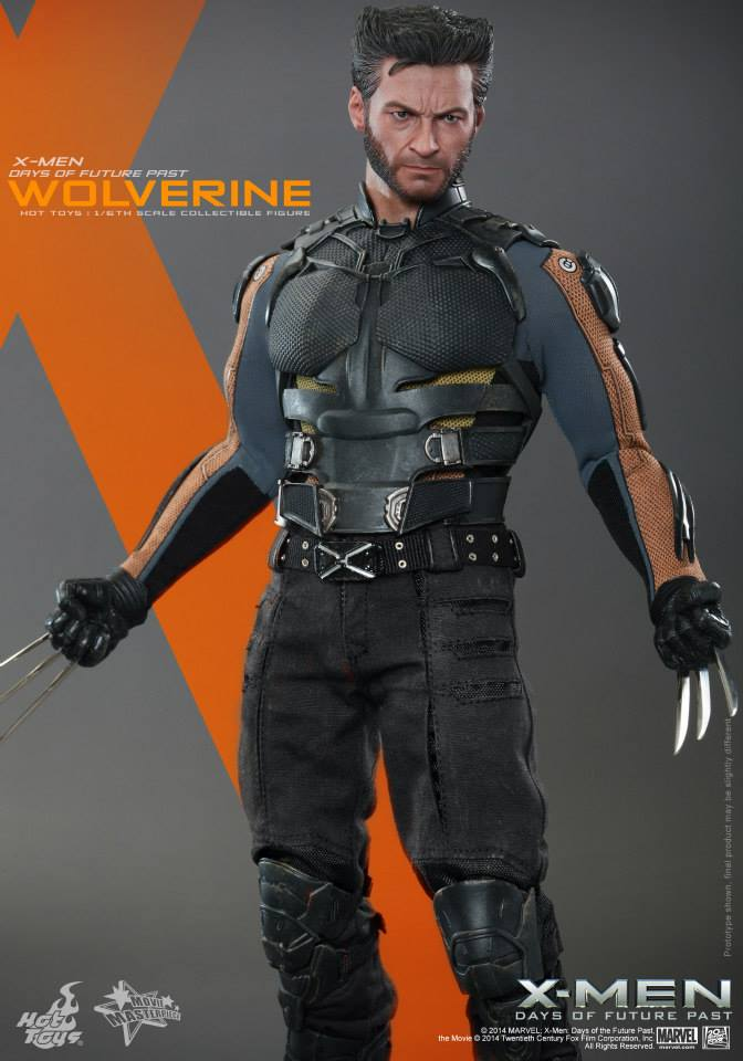 X Men Days Of Future Past Action Figures Hot Toys Wolverine Act...