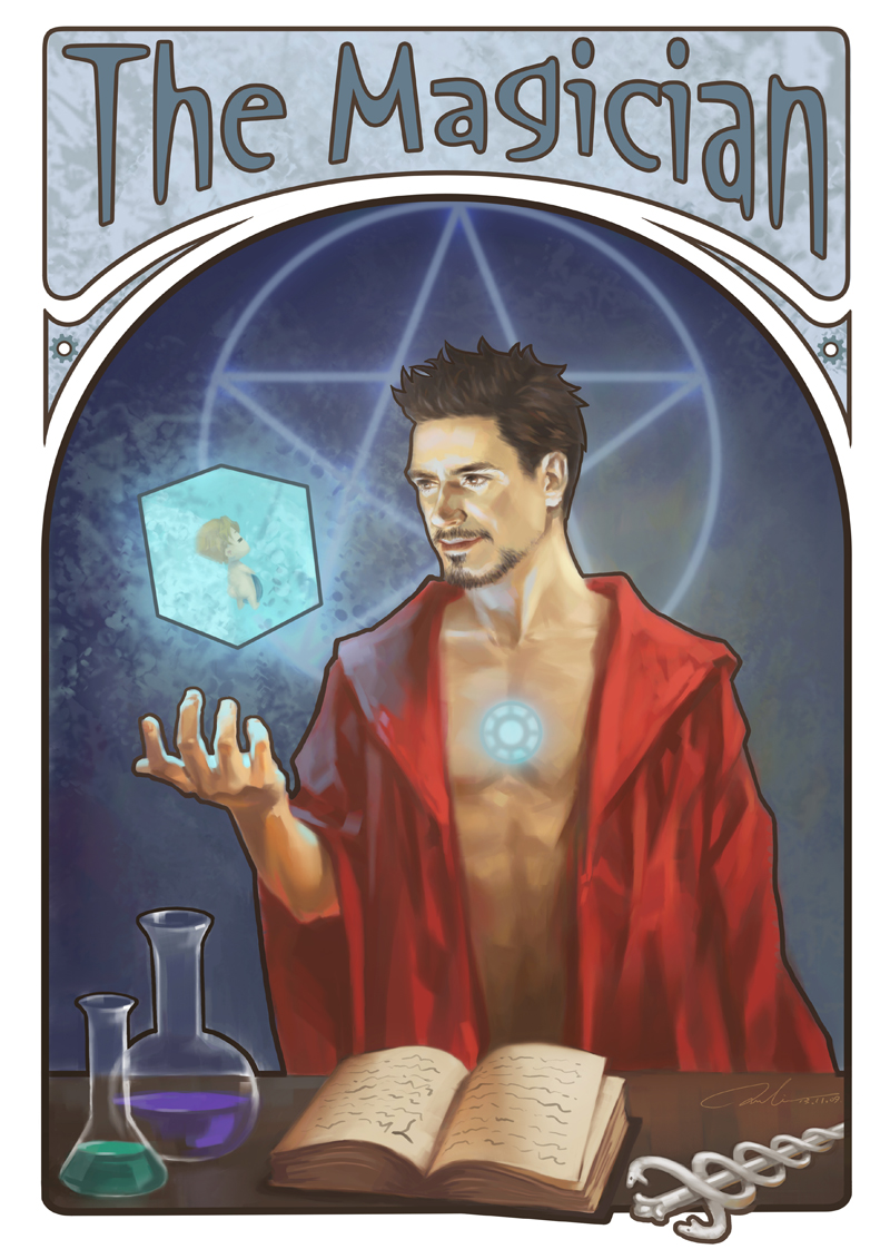 avengers-tarot-card-art