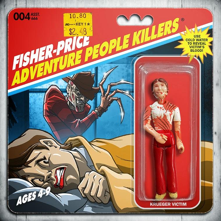 Horror Movie Action Figure Art Quot Fisher Price Adventure