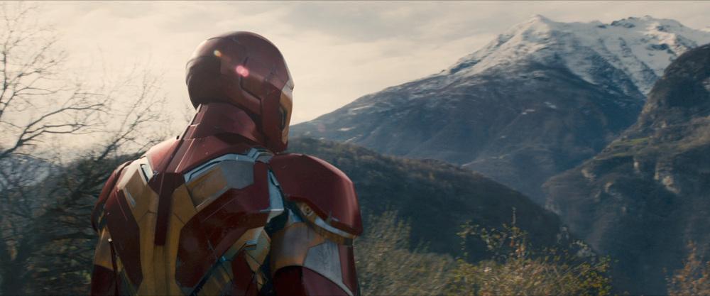 New Iron Man armor.