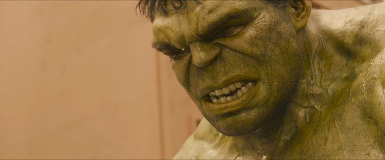 Sweaty Hulk.