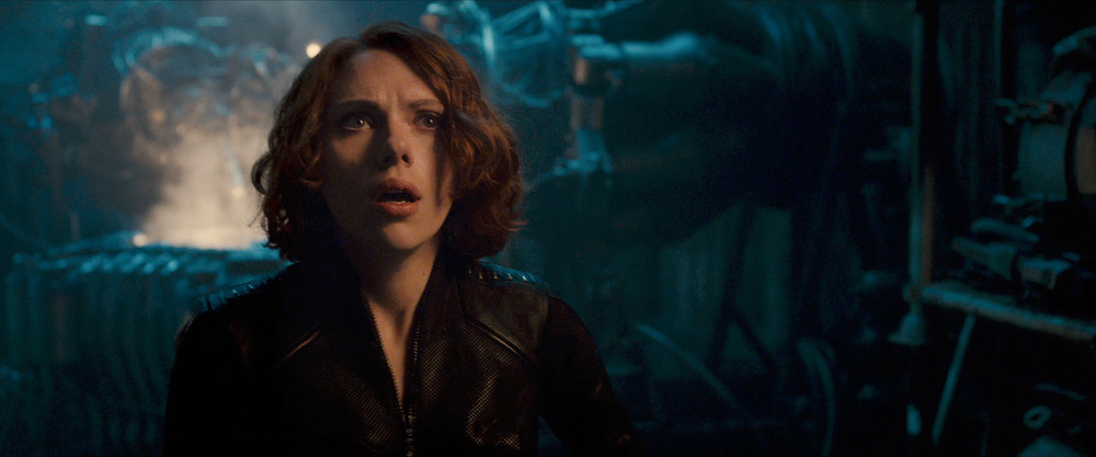 Not many things can make Black Widow look afraid.