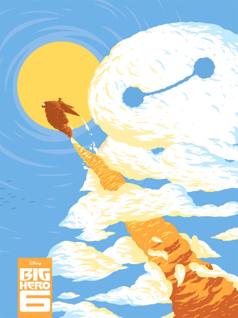 Even More New Poster Posse Art For Big Hero 6 Geektyrant