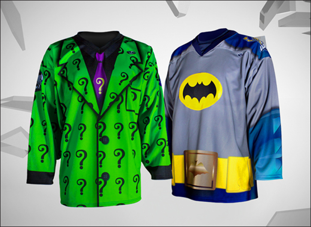 2-hockey-teams-will-face-off-wearing-batman-and-riddler-uniforms