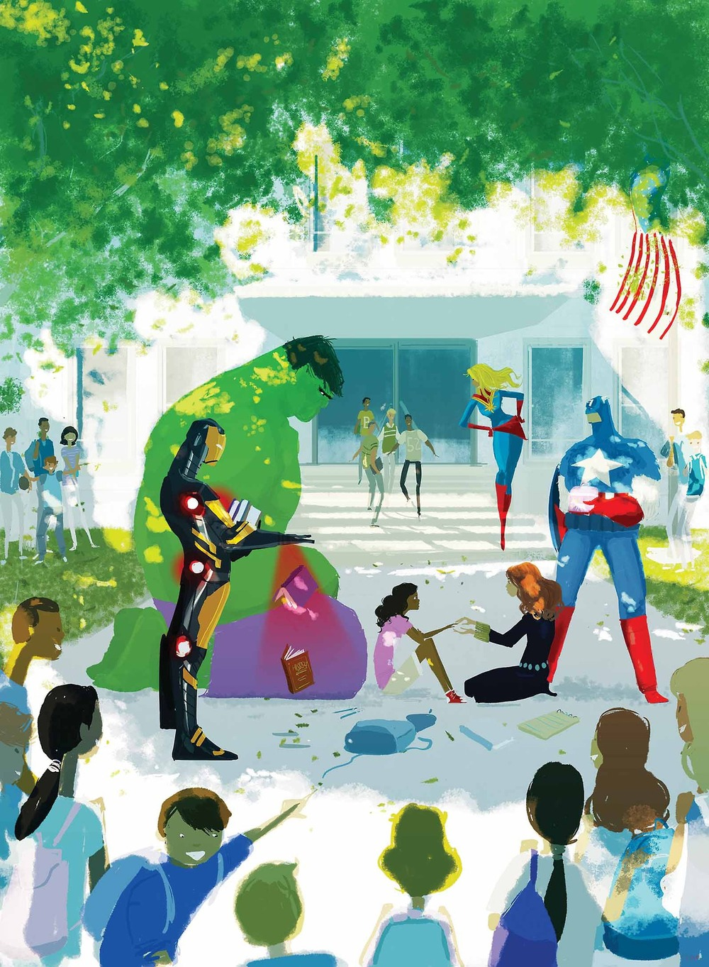 avengers-no-more-bullying-comic-art-by-by-pascal-campion