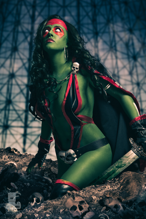 Callie Cosplay   is Gamora | Photo by:   David Love Photography