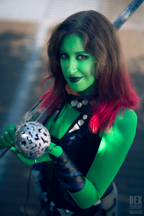 Dex Morgan   is Gamora | Photo by:   Paul Hillier Photography