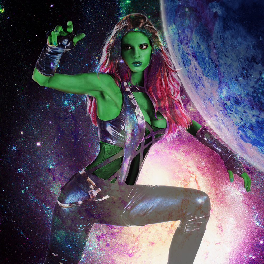 Kay Pike is Gamora